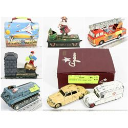 FEATURED LOTS: ANTIQUE/VINTAGE TOYS