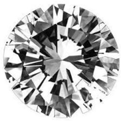 14ct Round Brilliant Cut BIANCO Diamond