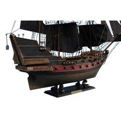 "Black Bart's Royal Fortune Limited Model Pirate Ship 24"" - Black Sails"