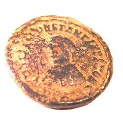 Bronze Coin of Constantine II (337-340 A.D.)