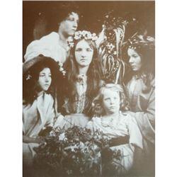 Victorian Ladies Sepia Photo Print