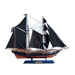 """Wooden Ben Franklin's Black Prince Limited Model Ship 24"""""""