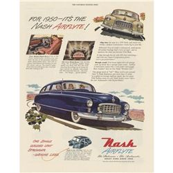 1950 Nash Airflyte Car Advertisement