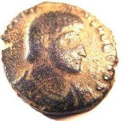 Bronze Coin of Constantius Gallus (351-354 A.D.)
