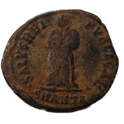 Ancient Coin of Fausta - Wife of Constantine I; 4th Century A.D.