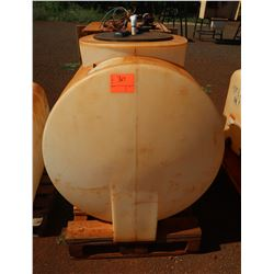 Chemtiner Large Plastic Fertilizer Tank w/ Electronic Pump
