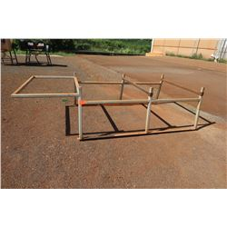 Metal Pipe Rack for Full-Size Truck