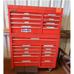 Homak SE Series Tool Chest / Toolbox with Some Tools