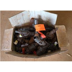 Box of Misc. PVC Fittings
