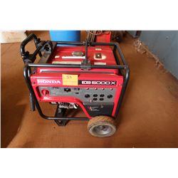 Honda EB 5000X Generator, 5000 Watts, Portable