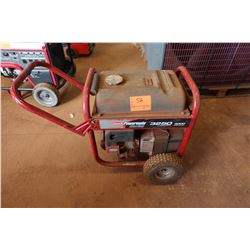 Coleman Powermate 3250 Generator, 4000 Watts