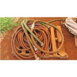 Contents of Pallet - Misc Hoses