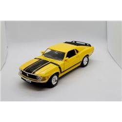 1970 Boss Mustang 1:18 scale Has Box