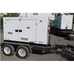 2010 MQ56KW Diesel Generator, Model DCA70USI2C - 8540 Hours - Starts & Runs, See Video