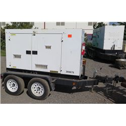 2010 MQ56KW Diesel Generator, Model DCA70USI2C - 8540 Hours - Starts & Runs, See Video