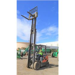 2010 Doosan D30S-5 Diesel Forklift, 6K, 2393 Hours, Runs, Drives, Lifts, See Video