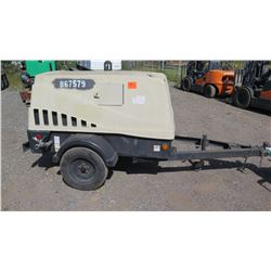 2010 Doosan 185CFM Diesel Air Compressor, 2141 Hours - Starts, Runs, Blows Air, See Video