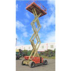 2011 JLG 3394RT Rough-Terrain Scissor Lift 33-Foot Working Ht 1483 Hours-Runs Drives Lifts See Vid