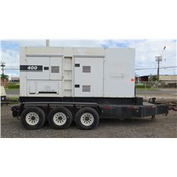2005 MQ Power DCA-400SSV DieselGenerator, 320KW, 4001 Hours - Starts & Runs, See Video