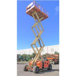 2011 JLG 3394RT Rough-Terrain Scissor Lift 33-Foot Working Ht 1631 Hours Runs Drives Lifts See Vid