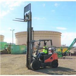 2012 Doosan G30P-5 Forklift, 6K Capacity, 1880 Approx. Hours - Runs, Drives, Lifts, See Video