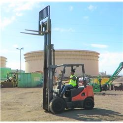 2012 Doosan G30P-5 Forklift, 6K Capacity, 1880 Approx. Hours - Runs, Drives, Lifts, See Video