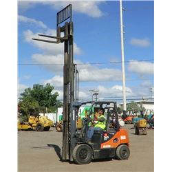 2012 Doosan G30P-5 Forklift, 6K Capacity, 1641 Approx. Hours - Runs, Drives, Lifts, See Video