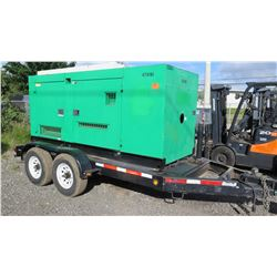 2012 MQ Power DCA-150SSIUC Diesel Generator, 120 KW, 7229 Hours, Starts & Runs