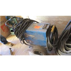 MILLER XMT 304 CC/CV WELDER WITH LEADS