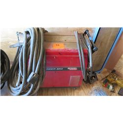Lincoln Electric Power MIG 300 Portable Welder w/ Leads