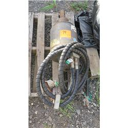 Hydraulic Auger Motor - Good Working Condition