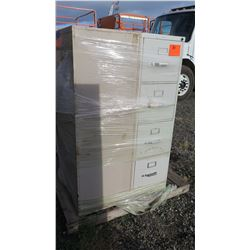 Qty 3 Metal File Cabinets