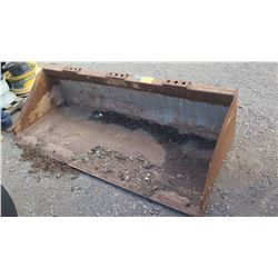"Volvo 1184200 Skidsteer Bucket Attachment, 80"" Wide"