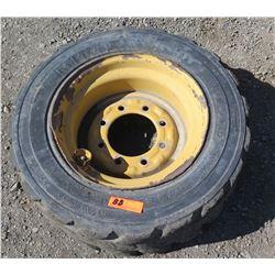 Mitas Skid Steer Tire With Rim