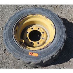 Mitas Skid Steer Tire With Rim