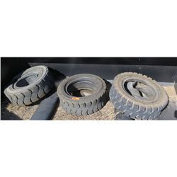 Qty 3 Forklift Tires