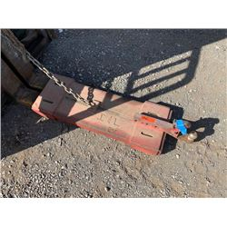 Pintle Hook Forklift Attachment