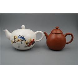 A Group of Two Teapots.