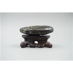 "A ""Liang Zhu"" Culture Jade Cicada."