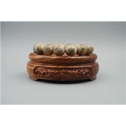 Sylmar Agarwood Beads Bracelet.