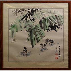 """Chinese Ink Painting - """"Xiao Ji Tu""""."""