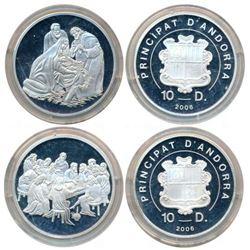 Foreign Coins : Andora