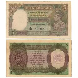 Paper Money : British India, George VI