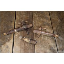 Wooden Wine Barrel Taps