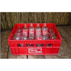 """The Pop Shoppe"" - Vintage 10 oz botlles"