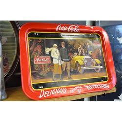 Coca-Cola TV Tray (with folding legs)