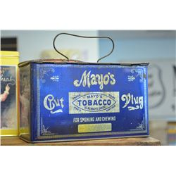 Vintage Mayo's Tobacco Tin