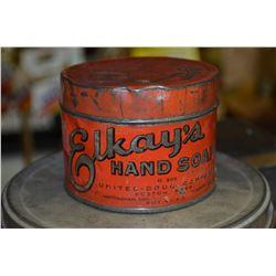 Elkay's Hand Soap Tin