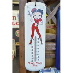Betty Boop Thermometer Sign