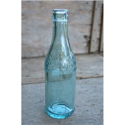 Original (Aqua) Coca-Cola straight-side bottle